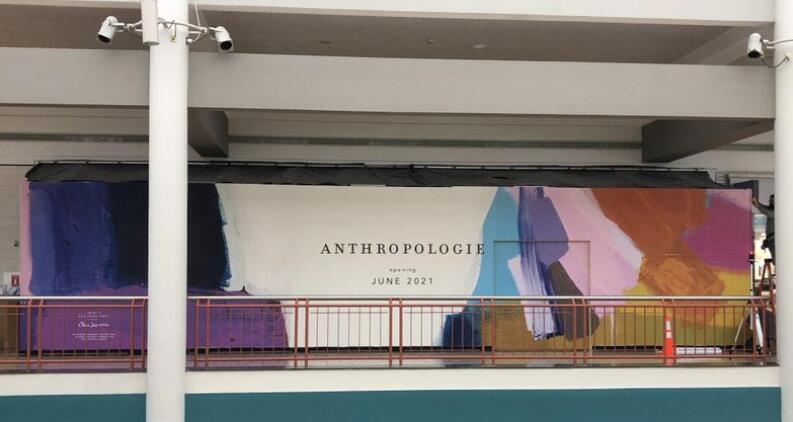 服装品牌'Anthropologie'将于2021年夏季在Destiny USA开业