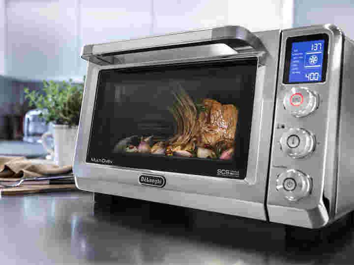 de'longhi推出了新的小家电 - 烤箱到空中缺点