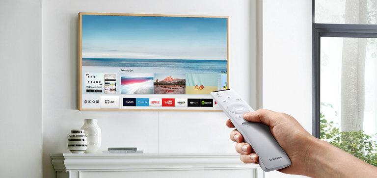 三星在奥兹推出了43英寸框架电视