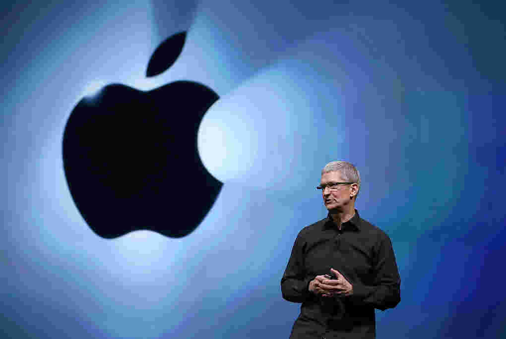 Apple iPhone销售下来,报告季度季度
