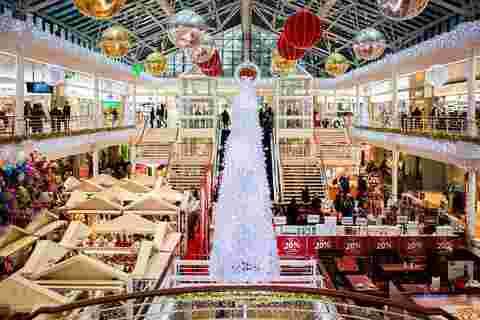 盎司圣诞购物,注入110亿美元