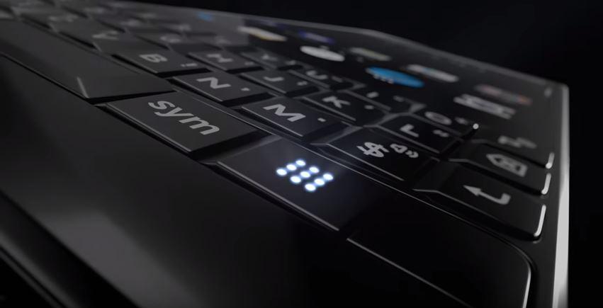 BlackBerry戏弄新Key2智能手机