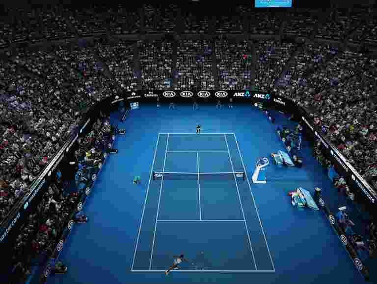 九个从七一年获得网球比预期