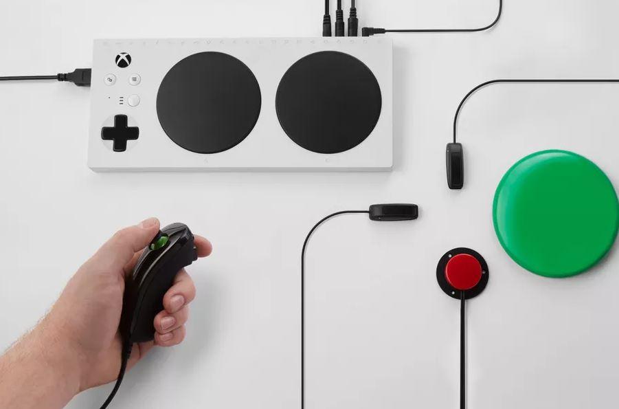 Microsoft为残疾人推出Xbox游戏控件