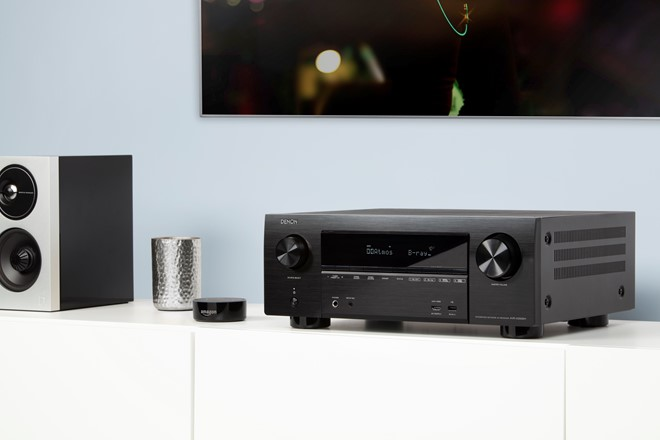 Denon AVR-X4500H&AVR-X3500 Dolby Atmos AV接收器添加Amazon Alexa