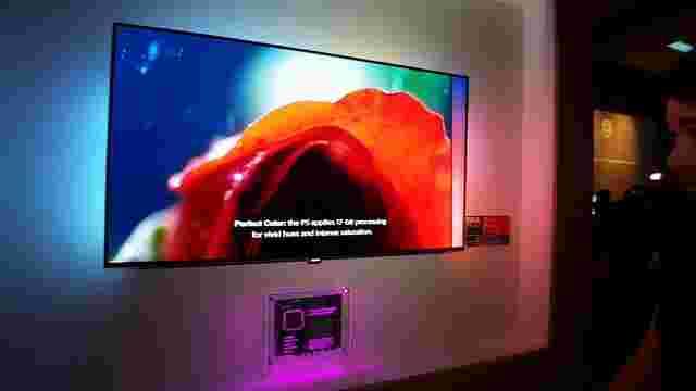 OLED电视在问题中刻录测试揭示了问题