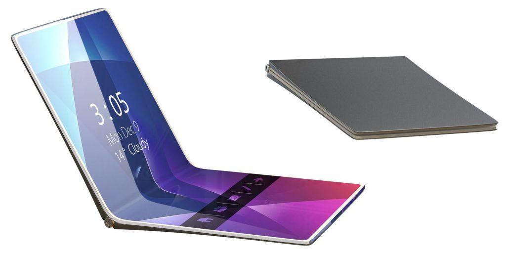 华为开发5G可折叠智能手机